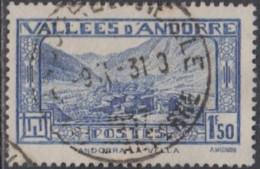 Andorre Français - N° 40 (YT) Oblitéré. - Andorra Francesa