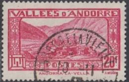 Andorre Français - N° 45 (YT) Oblitéré. - Andorra Francesa