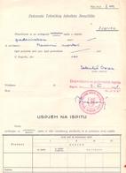 USTASA UNIVERSITY PIVOT-NDH-CROATIA-1941-RRR - Historical Documents