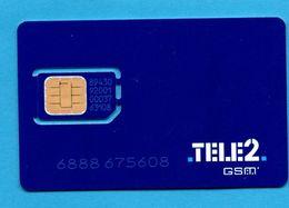 TELE 2 -  SIM Card  MINT ?? - Sonstige – Europa