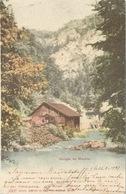 Gorges De Moutier - Scierie           1903 - BE Berne