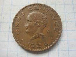 Mexico , 5 Centavos 1954 - Mexico