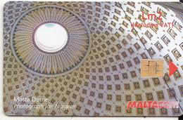 MALTA - Mosta Dome, Chip GD10, 02/07, Used - Malta
