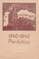 Deutsches Reich Bohmen Und Mahren Postcard Gedenkkarte 1940 - Occupation 1938-45
