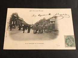CPA 1900/1920 La Schlucht  à La Frontière Animée - Gerardmer