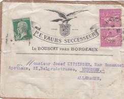France Addresslabel 1925 Perfin - Unclassified