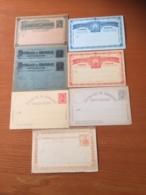 +++ Sammlung Honduras 7 Postcards From 1891 +++ - Stamps
