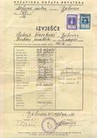 USTASA-NDH-CROATIA-31.1.1942 - Historical Documents