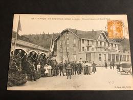 CPA 1900/1920 La Schlucht à La Frontière Grand Hôtel Et Douane - Gerardmer