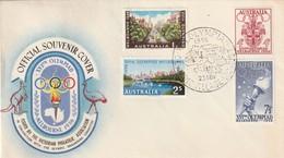FDC - AUSTRALIE - Oblitération : Olympic Village 22/11/1956 - Sommer 1956: Melbourne