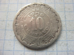 Mexico , 10 Centavos 1936 - Mexico