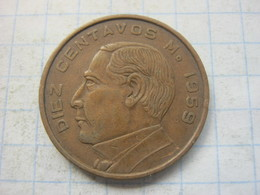 Mexico , 10 Centavos 1959 - Mexico
