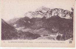 La Grande Chartreuse - Vue Sur Le Couvent Et Le Grand Som - Grenoble