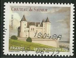 2012 Yt Adh 717(o) Le Château De Saumur - Oblitérés