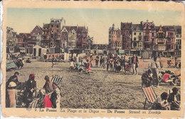 De Panne - Strand En Zeedijk - De Panne