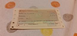 BIGLIETTO TRENO DA VENEZIA SANTA LUCIA A MODENA 1989 - Railway