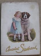1912 - Grand Cahier De Buvards SUCHARD - 4 Buvards MILKA / VELMA / CHOCOLAT / CACAO - 9 Scans - Cocoa & Chocolat