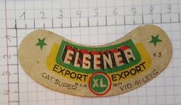 ETIQUETTE  BRASSERIE D' IXELLES ELSENER EXPORT - Beer