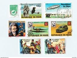 Niger Lot De 13 Timbres - Niger (1960-...)