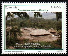 A544H-KOLUMBIEN - MNH - 2009 - GUAJIRA DEPARTMENT- DOMINGUEKA - Colombie