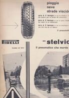 (pagine-pages)PUBBLICITA' PIRELLI   Oggi1953/04. - Other