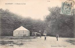 Clamart Bois Stand De Tir Manège Fête Foraine - Clamart