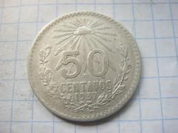 Mexico , 50 Centavos 1937 - Mexico
