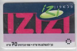 ISRAEL 2004 PELEPHONE IZIZI 70 SHEKELS - Israel