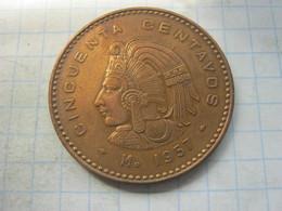 Mexico , 50 Centavos 1957 - Mexico