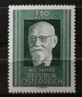 Autriche 1958 / Yvert N°880 / ** - 1945-60 Ungebraucht