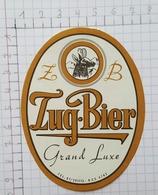 ETIQUETTE  BRASSERIE SAINTE ANNE ROUX ZUG.BIER - Beer