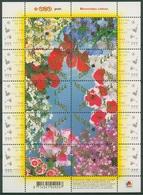 Niederlande 2007 Blumengrüße Kleinbogen Mit Samen 2498/07 K Postfrisch (C95894) - Period 1980-... (Beatrix)
