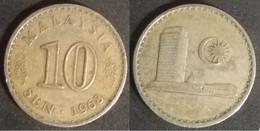Malaysia - 10 Sen 1968 Used (ma017) - Malaysia