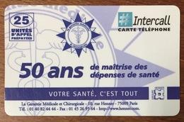 GROUPE HENNER CARTE INTERCALL 60U CARTE PRÉPAYÉE PREPAID PHONECARD CARD QUE POUR LA COLLECTION - Frankreich