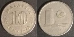 Malaysia - 10 Sen 1973 Used (ma018) - Malaysia