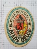 ETIQUETTE  BRASSERIE QUISENAIRE - LAVENDY BIERE BELGE - Beer