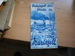 Verbringet Den Winter In Mariazell Steiermark Osterreich - Tourism Brochures