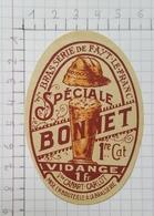 ETIQUETTE  BRASSERIE CANART - CARLOT  FAYT-LE-FRANC SPECIALE BONNET - Beer