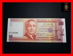 PHILIPPINES 50 Piso 2004 P. 193 A  UNC - Philippines