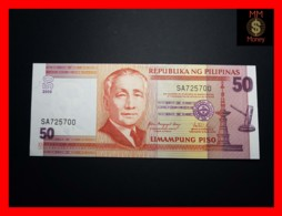 PHILIPPINES 50 Piso 2009 P. 193 B   UNC - Philippines