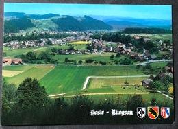 Hasle-Rüegsau Gesamtansicht/ Modernere Karte - BE Berne