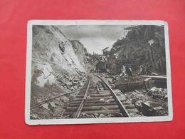 ZAPOROZHE 1930-th DNEPROSTROY, Excavator Work, Excavation. Russian Postcard - Ukraine