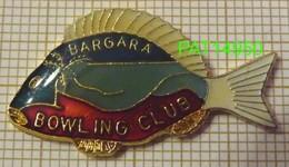 BOWLING CLUB BARGARA   AUSTRALIE POISSON - Bowling