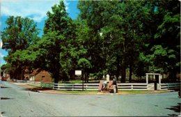 North Carolina Winston Salem The Old Cistern On Salem Square 1963 - Winston Salem