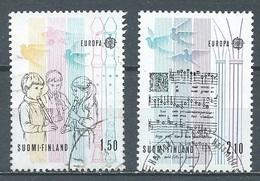 Finlande YT N°932/933 Europa 1985 Année Européenne De La Musique Oblitéré ° - Europa-CEPT