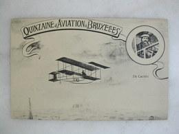 AVIATION - Quinzaine D'aviation à BRUXELLES - De Caters - Meetings