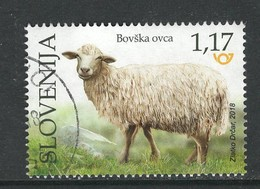 Sloveniê 2018, Yv 1104  Gestempeld - Slovénie