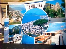 3 CARD TERRACINA  VEDUTE VARIE  VB1964\81 HP9084 - Latina