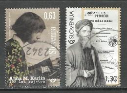 Sloveniê 2019, Yv  1131-32, Reeks,  Gestempeld - Slovénie