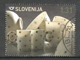 Sloveniê 2019, Yv  1135, Hoge Waarde,  Gestempeld - Slovénie